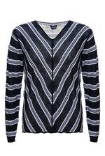 Параметры интересующего вас пуловера ARMANI: грудь - 54 см*2, длина по спине - 69 см.С уважением, служба поддержки клиентов JUSTMODA.RU