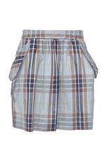 Здравствуйте!Обьем юбки 42 маркировка,имеет 75см.,и длина с поясом 47см.