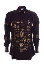 Рубашка DOLCE & GABBANA  44разм по вороту, соответствуют российским размерам  52-54, но надо учесть, что рубашка приталенная.У вас есть возможность примерить при заказе.
