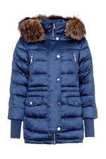 Капюшон у Куртки ODRI хорошо держится на голове.