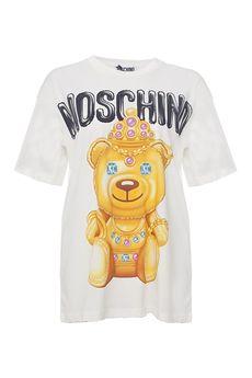 Футболка MOSCHINO V07030540/17.2. Купить за 11900 руб.