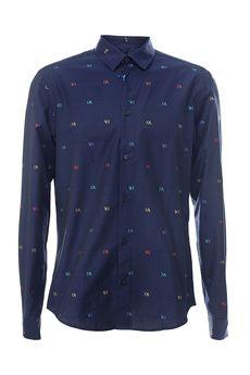 Рубашка VERSACE B1GPA6S013743/17.2. Купить за 8360 руб.