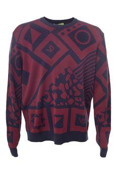 Пуловер VERSACE B5GQB80056687/18.1. Купить за 7315 руб.