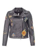 Куртка великолепная, аккуртная вышивка, мягкая кожа,купила за 25тр размер соответствует. Марина, г.Москва