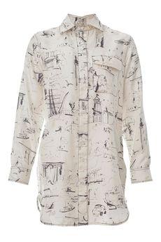 Рубашка BURBERRY 40726801003/18.1 . Купить за 24900 руб.