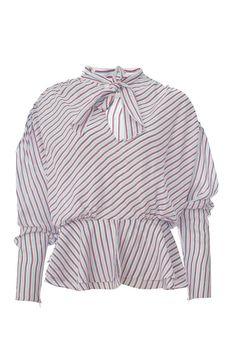 Блузка BALENCIAGA 470949TVA06/18.1. Купить за 43250 руб.
