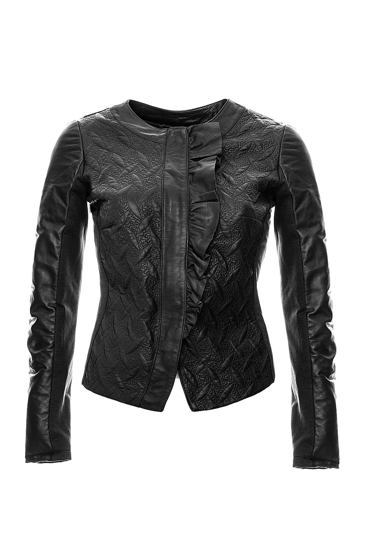 куртка с кожаными рукавами женская картинки местному преданию, название