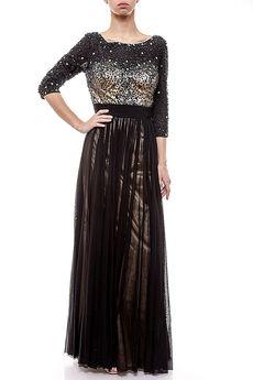 длинное платье с открытой спиной (29