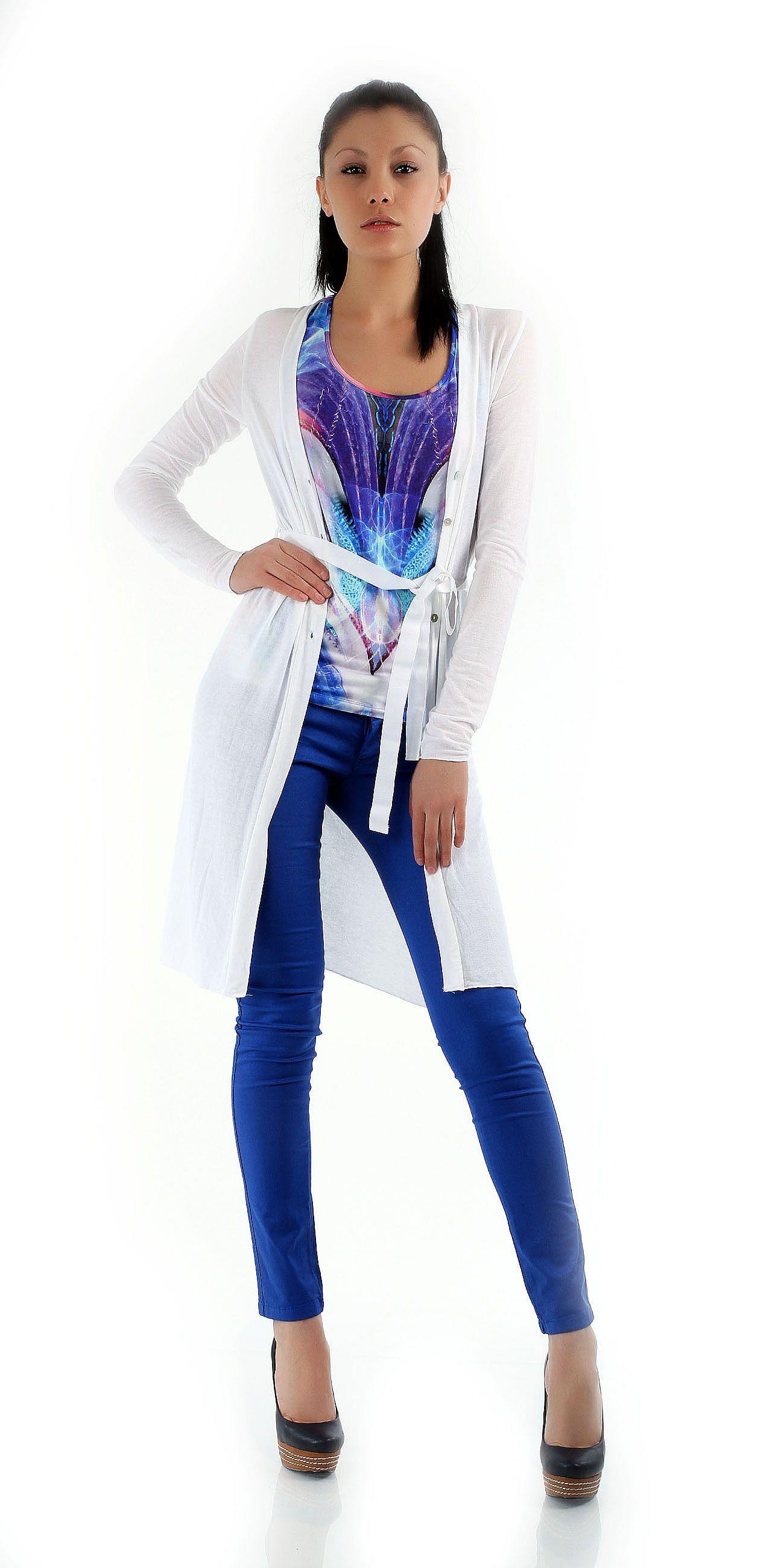 Гипюровая юбка с принтом розы Berkertex цена 169 грн