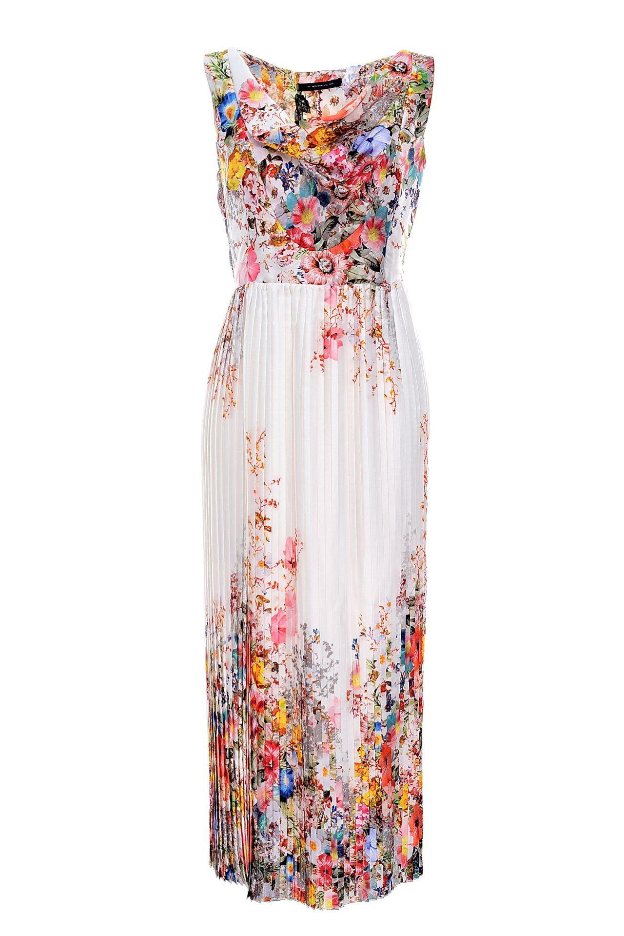 Платья из купонной ткани для полных